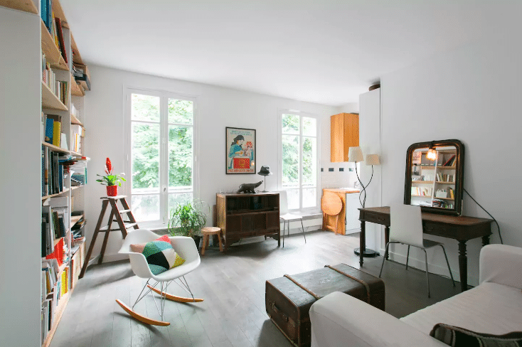 Romantic AirBNBs in Paris